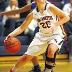 Nanticoke Area remains unbeaten, handles rival Hanover Area in WVC girls basketball showdown