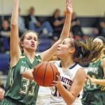 Nanticoke Area rides Chaquanna Zendarski and Gianna Roberts to big WVC girls basketball victory