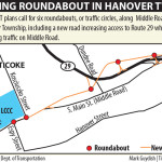 Work begins on long-awaited roundabouts in Nanticoke
