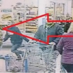Police looking for man accused of stealing merchandise from Walmart