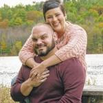 Danielle Simonson and John Dane engagement