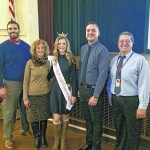Miss Outstanding Teen, Abigail White, visits Wyoming Valley West Middle School