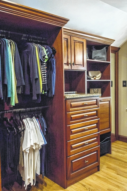 A Personalized Closet Designed And Built By Creative Closets.