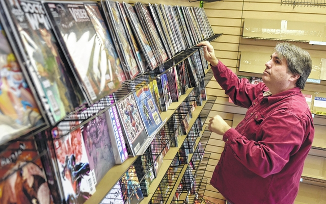 Chuck Rowles, creator of 'The Gods of Arr-Klaan' and owner of West Pittston's Rubber Mallet Comics, has been into comics since he was a kid
