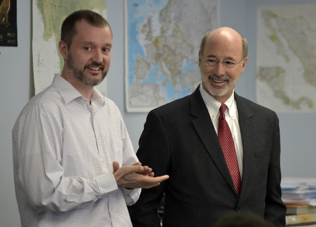 Hazleton Area students are tough crowd for Gov. Tom Wolf