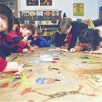 Throwback Thursday: Fourth-graders learn about the Persian Gulf War in February 1991