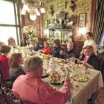 A Chocolate Lover's Valentines Day Tea held at the Frederick Stegmaier Mansion