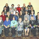 The General Federation of Women's Clubs-West Side held an initiation ceremony and dinner