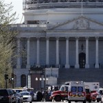 Update: Man shot by police after drawing weapon at US Capitol