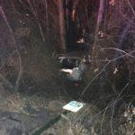 Police: Speeding vehicle went airborne over embankment, crashed into tree
