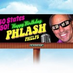 SiriusXM DJ Phlash Phelps visiting Scranton on national tour, checking out billboard in his honor