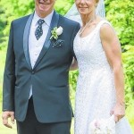 Paula Rhea Pickarski and Scott Paul Andrews wedding announcement