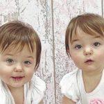 Happy birthday to Olive Blodwyn and Violet Ranella!