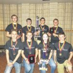 Wyoming Area takes first, second place at Bloomsburg University Science Iditarod