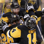 Penguins edge Capitals in OT, advance to NHL's Eastern Conference final