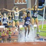 College Corner: Hannah Coffin comes up big when it counts in 3,000 meter steeplechase