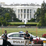 Secret Service agent shoots armed man outside White House