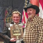 Butch Sands honored by Lions Club with the Melvin Jones Fellowship Honor