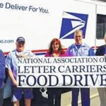 Letter carriers food drive approaching
