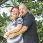 Buddy Oppelt and Debbie Sherlinski engagement