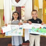 Good Shepherd students win coloring contest