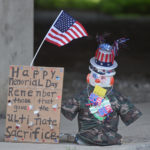 Kingston snowman returns to Mercer and Bennett Streets to celebrate Memorial Day