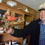 Donald Gross of Harding has impressive collection of lamps, instruments, Americana