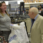 Al and Jim Boscov impressed with new look of downtown Wilkes-Barre store