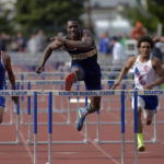 Meyers' Raheem Twyman wins two District 2 Class 2A boys track and field gold medals; Lake-Lehman's Dominic Hockenbury breaks district record