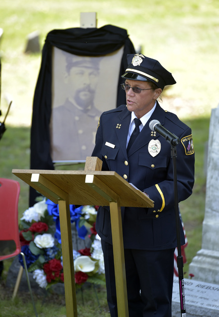Times Leader | Graveside service pays tribute to WB police ...
