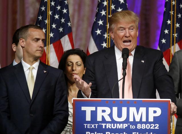Trump's Fires Campaign Manager Corey Lewandowski