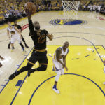 James, Irving star as Cavs force Game 6 in NBA Finals on Thursday night