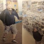 Police searching for man accused of stealing merchandise from Walmart