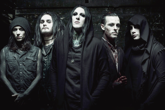 times leader josh balz talks about motionless in white s new single new record deal. Black Bedroom Furniture Sets. Home Design Ideas