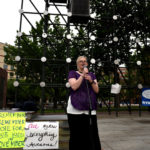 Residents rally on Public Square against W-B Area cuts