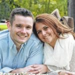 Kellen Chambers and Matthew Balutis engagement