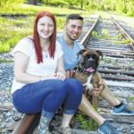 Samantha Littleford and Jason Woodard engagement