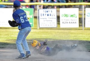 Back Mountain American no-hits West Pittston in 9-10 baseball