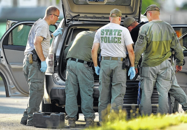 Times Leader Traffic Stop Sends Bomb Squads To Wilkes