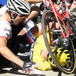 Chaos and a crash shake up Tour de France