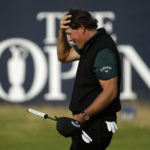 Inches from history: Mickelson just misses record round at British Open