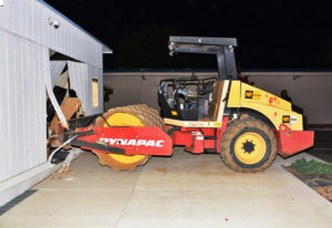 Police: Runaways used tractor to break into school building
