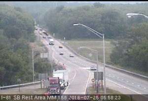 Minor, heavy traffic congestion reported in the Wyoming Valley this morning