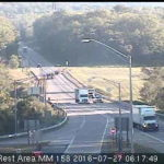 Areas of minor, heavy traffic congestion reported in the Wyoming Valley