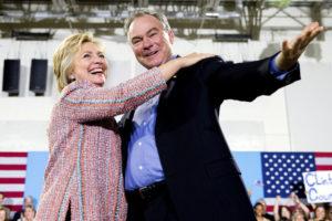 Hillary Clinton chooses Va. Sen. Tim Kaine as running mate