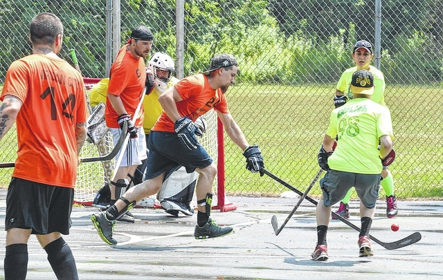 times leader hockey fights cancer holds tournament in