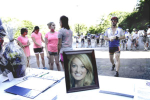 Bike ride honors DUI/hit-run victim, funds YMCA, drug-and-alcohol program