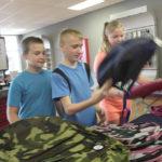 Backpack giveaway readies children for school