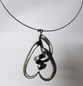 Hunlock Creek couple turns antique silverware into wearable art