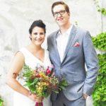 Natasha Martines and Carl Bartizek wedding